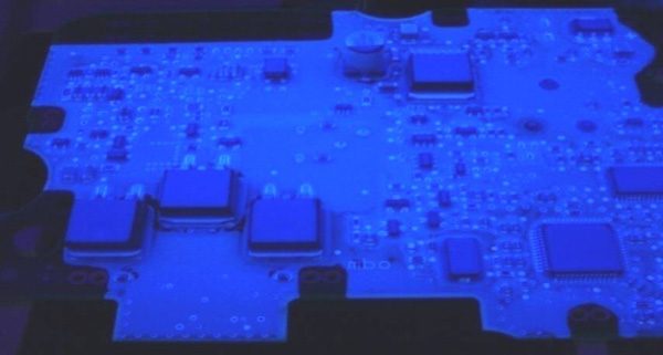 conformal coating electronic components uv-light